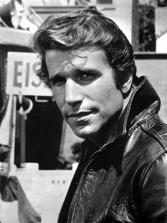 Henry Winkler in Leather Jacket