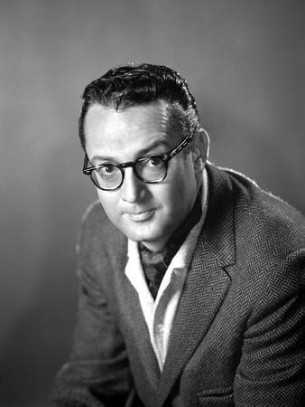 Steve Allen Black With Eyeglasses