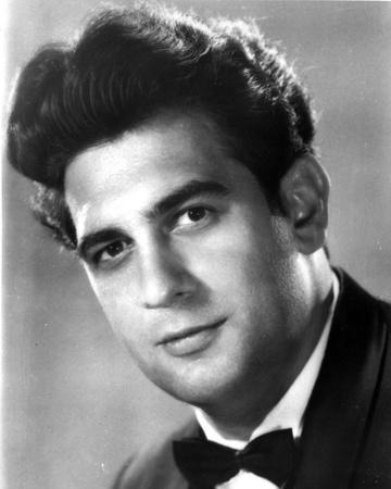 Placido Domingo Close Up Portrait