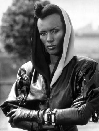 Grace Jones Portrait in Classic