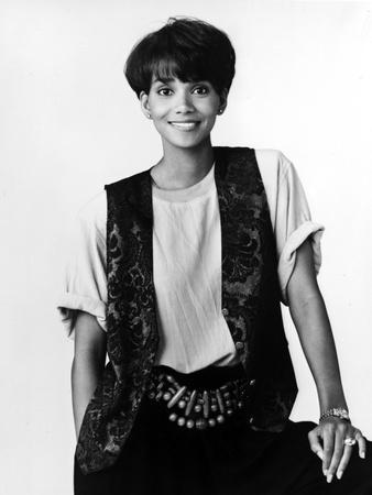 Halle Berry Portrait in Classic