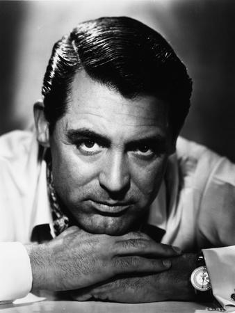 Cary Grant Resting Head On Hands