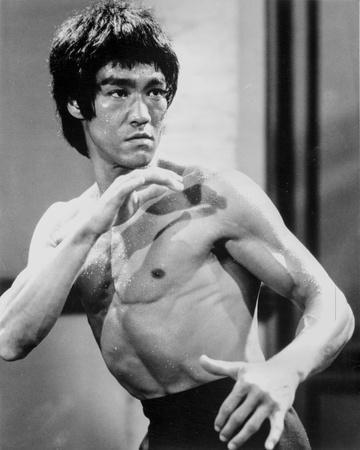 Bruce Lee with Blood on Face