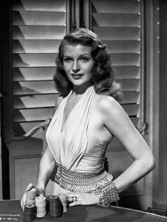 Rita Hayworth Posed in Blouse