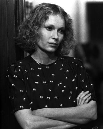 Mia Farrow Portrait in Classic