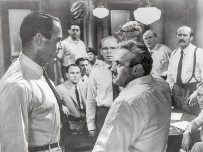 Twelve Angry Men Fight Scene