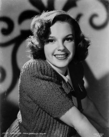 Judy Garland portrait smiling