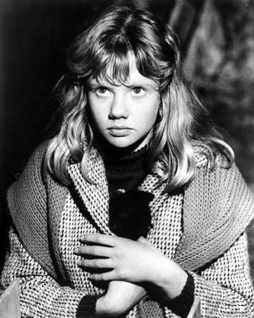 Hayley Mills in Printed Coat