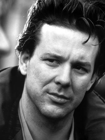 Mickey Rourke Close Up Portrait