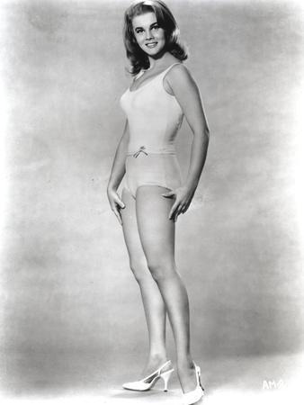 Ann Margret Posed in Lingerie