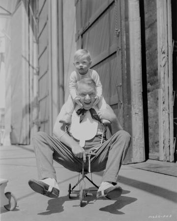 W C Fields Old Man on Tricycle