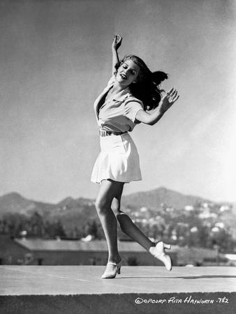 Rita Hayworth Dancing Portrait