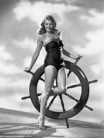 Rita Hayworth in Swimming Suit