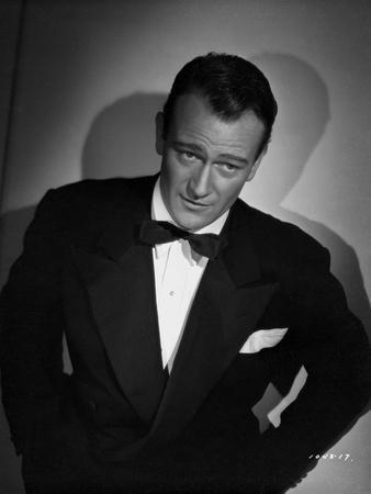 John Wayne in a bowtie