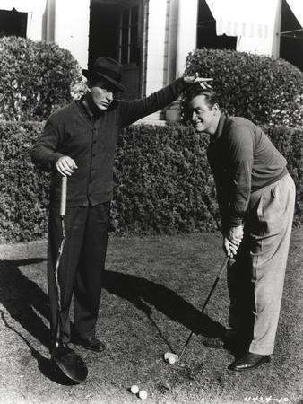 Bob Hope Playing Golf
