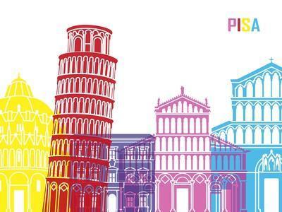 Pisa Skyline Pop