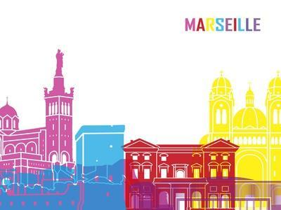 Marseille Skyline Pop