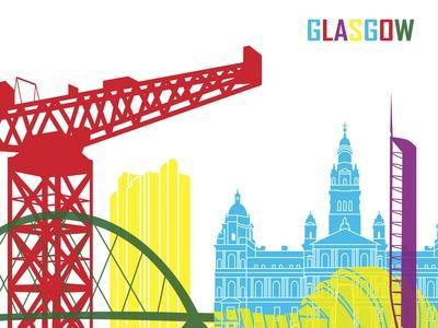 Glasgow Skyline Pop