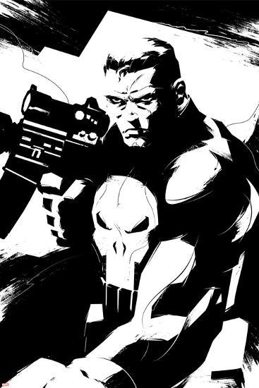 Marvel Knights Punisher Character Art Posters At
