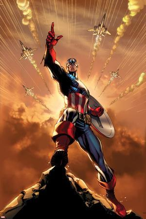 Spider-Man No. 2 Cover Featuring Captain America