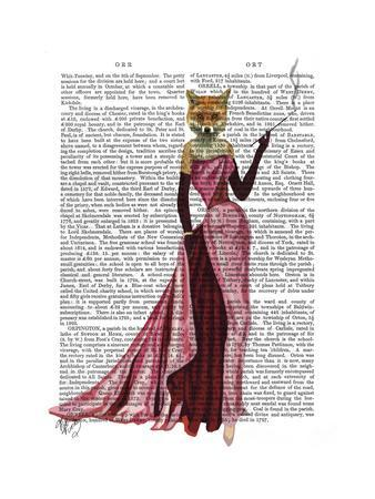 Glamour Fox in Pink