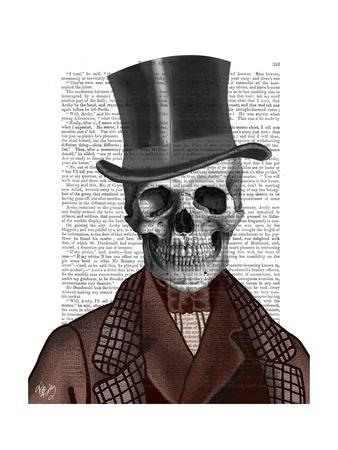 Skeleton Gentleman and Top hat