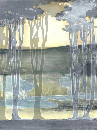 Non-Embellishd Nouveau Landscape II
