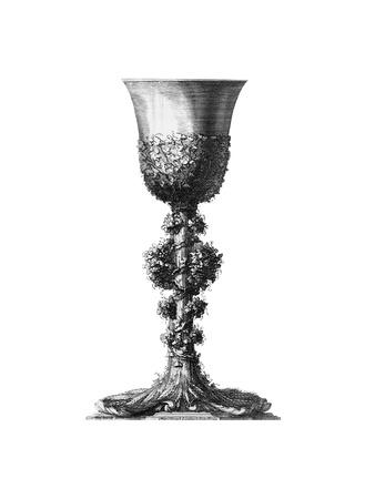 Black and White Goblet II