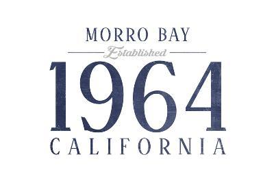 Morro Bay, California - Established Date (Blue)