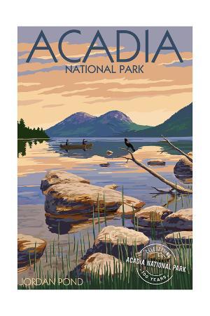 Acadia National Park, Maine - Celebrating 100 Years - Jordan Pond