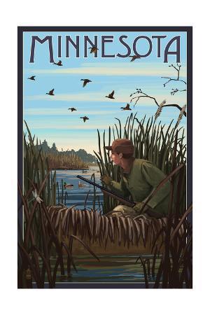 Minnesota - Hunter and Lake