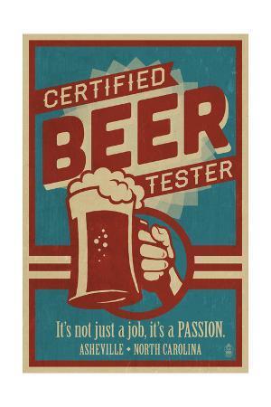 Asheville, North Carolina - Certified Beer Tester