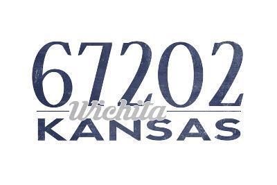 Wichita, Kansas - 67202 Zip Code (Blue)