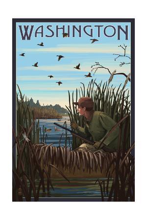 Washington - Hunter and Lake