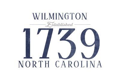 Wilmington, North Carolina - Established Date (Blue)