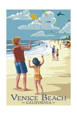 Venice Beach, California - Kite Flyers