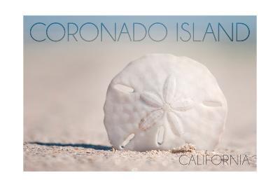 Coronado Island, California - Sand Dollar and Beach