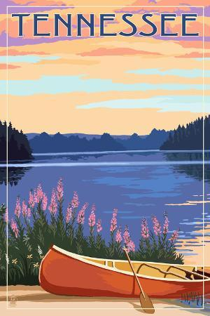 Tennessee - Canoe and Lake
