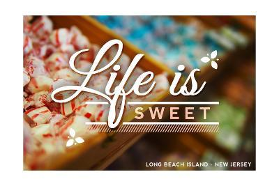 Long Beach Island, New Jersey - Life is Sweet - Rows of Candy