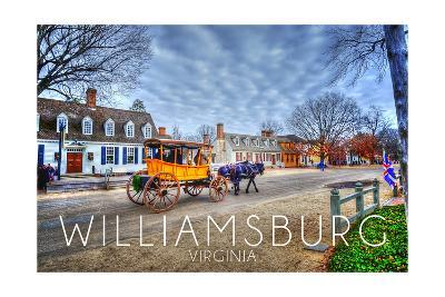 Williamsburg, Virginia - Horse and Buggy