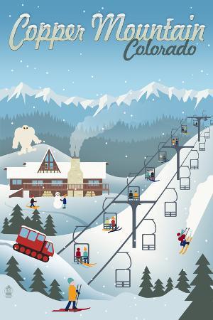 Copper Mountain, Colorado - Retro Ski Resort