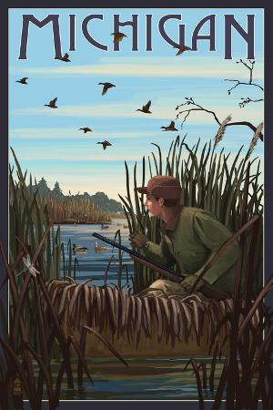 Michigan - Hunter and Lake