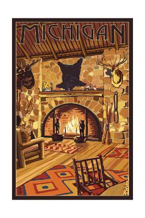 Michigan - Lodge Interior