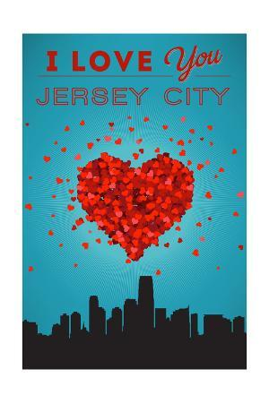 I Love You Jersey City, New Jersey