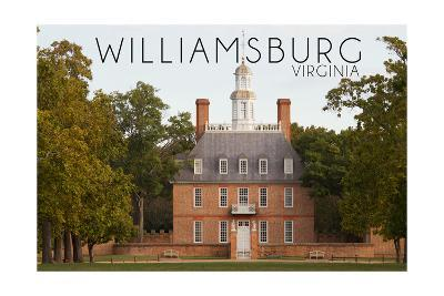 Williamsburg, Virginia - Governors Palace Front View