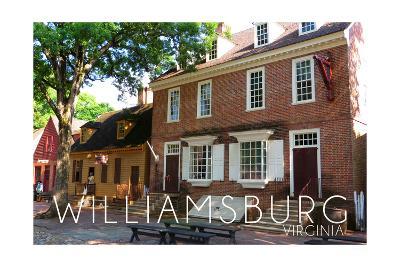Williamsburg, Virginia - Main Steet View