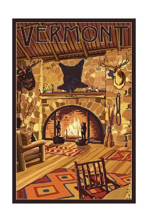 Vermont - Lodge Interior