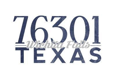 Wichita Falls, Texas - 76301 Zip Code (Blue)