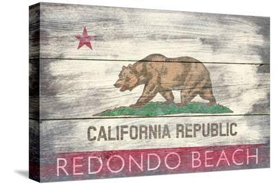 Redondo Beach, California - Barnwood State Flag