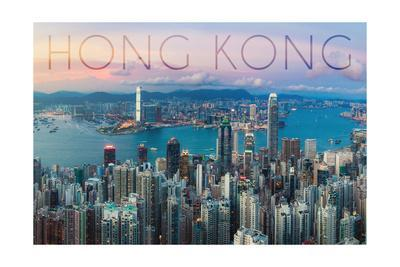 Hong Kong, China - Aerial View